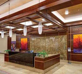 Reception Desk | Lobby | Acuity Brands Lighting