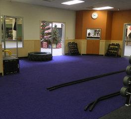 Red Door Construction Functional Fitness Area