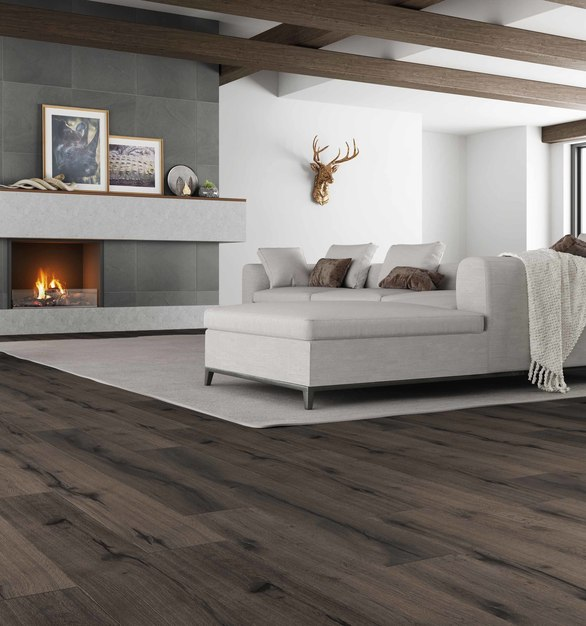 The Republic American Cavalier Collection, a stunning new laminate floor that brings the glory of continental old‐world any multi-familyapartment complex complete.
