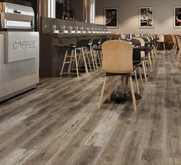 Republic floor Clover Creek cafe flooring