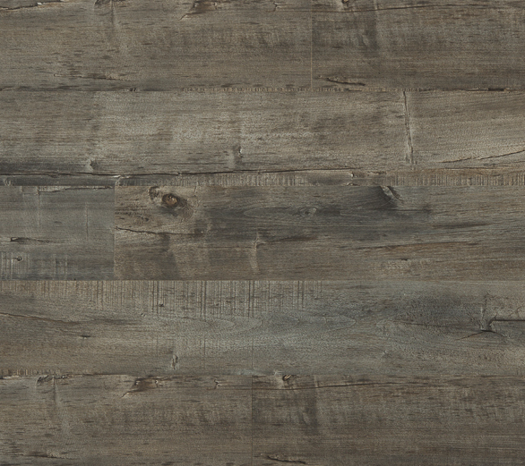 Laminate Flooring - Fortress Collection by Republic Floor in Cathedral Gray.