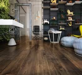 Republic floor Fortress laminate flooring pecan