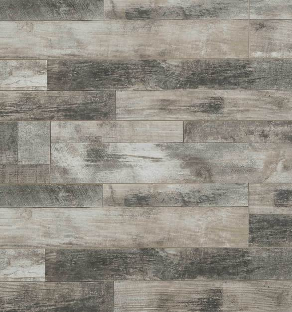 Laminate Flooring - Fortress Collection Random Length by Republic Floor in Country Cedar.