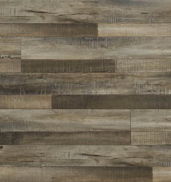 Laminate Flooring - Fortress Collection Random Length by Republic Floor in Country Maple.