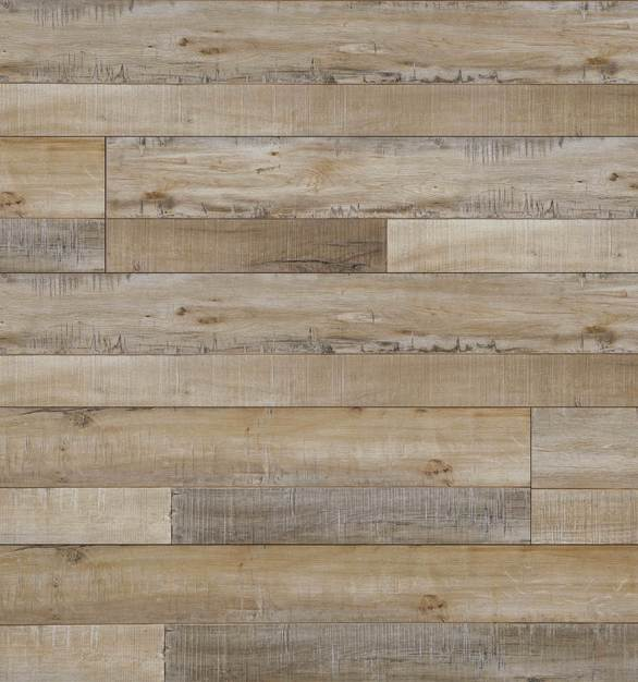 Laminate Flooring - Fortress Collection Random Length by Republic Floor in Country Walnut.