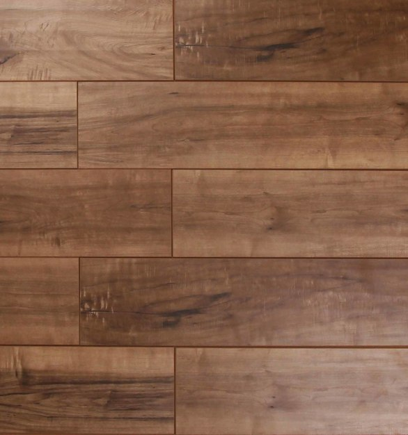 Laminate Flooring - The Glens Collection by Republic Floor in Dark Tan.