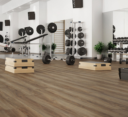 Republic floor The Pacific Oak gym flooring