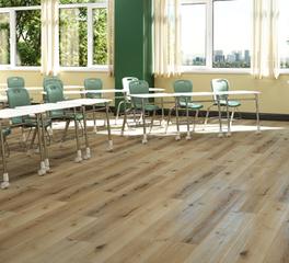Republic floor The Woodland Oak education flooring