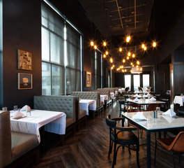 Restaurant dining room layout