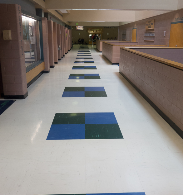 With a multitude of colors to choose from, you're sure to find what matches your branding design scheme. Large-format tiles offer premium visual and design flexibility. Larger tiles install faster and have fewer seams.