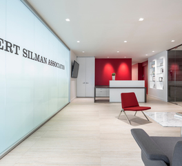 Rise Projects Robert Silman Associates Office Lobby and Reception Design