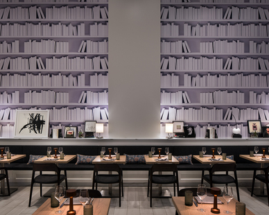Close collaboration with and interactivity among the client, architects, interior designers, consultants and owners has enabled the creation of a cohesive, uniquely appealing establishment that engages with the neighborhood and will quickly become Denver's newest gathering place.