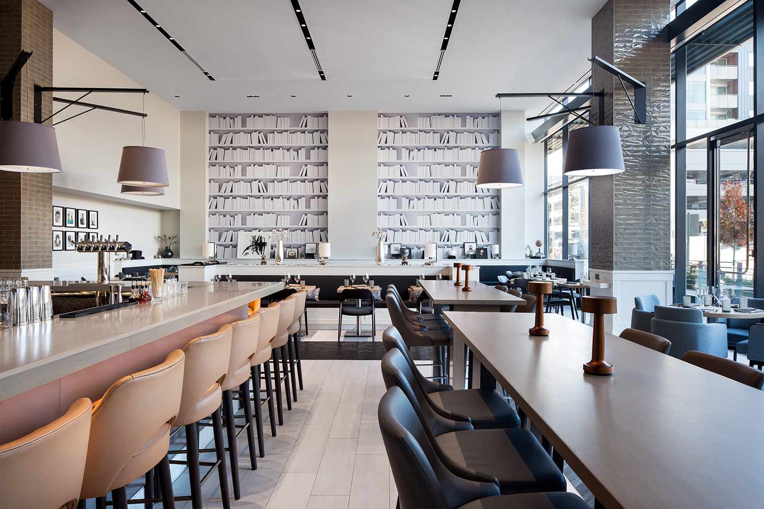 Urban. Sleek. Open. Inviting. Elegant. Located within The Jacquard hotel in Denver's dynamic Cherry Creek North neighborhood, this 3,500 square foot restaurant is tailored to perfection.