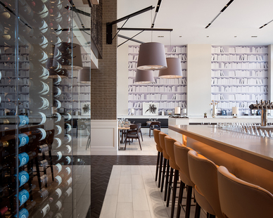 Inspired by the locale, increasingly considered the place to be for a younger, forward-thinking clientele, the sleek, high-end interior design concept is intended to pique curiosity and invite exploration.