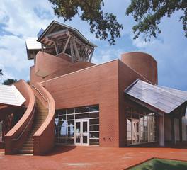 roy anderson corp contractors George E Ohr Museum of Art unique exterior