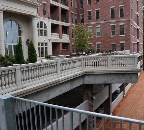 Commercial balustrades, by Royal Corinthian.