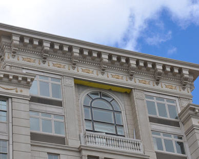 Royal Corinthian Cornice Corbels Balustrade.