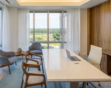 RSP Architects Carlson Tower Private Office Space Design