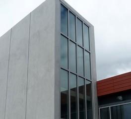 Safti first Claremont Mckenna College Kravis Center curtain wall system glazing
