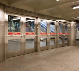 safti first fulton street station public transportation