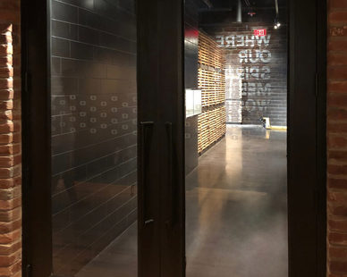Old Forester Distillery chose SAFTI FIRST SuperLite II-XL 90 in GPX Builders Series Temperature Rise Doors.