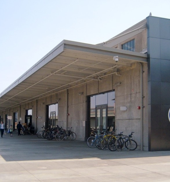 The Exploratorium in San Francisco, California showcases SAFTI FIRST's SuperLite II-XL glass doors to provide safety the 500,000 plus visitors each year.