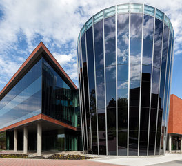 Sage Glass Bowie State University Dynamic Smart Glass Exterior