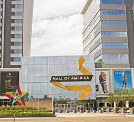 SageGlass Mall of America Storefront Curtain Wall System