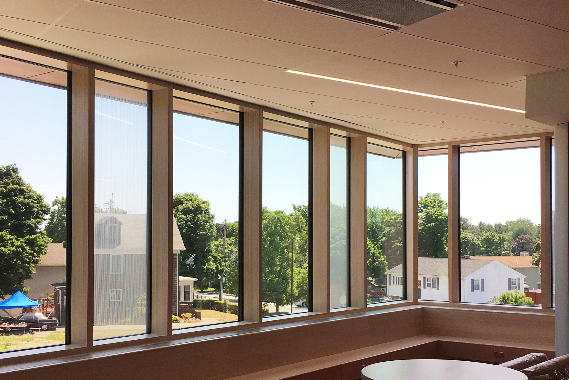 Featured here at Saugus Middle/High School areLamboo® Vue™ Series - Curtain Wall System.