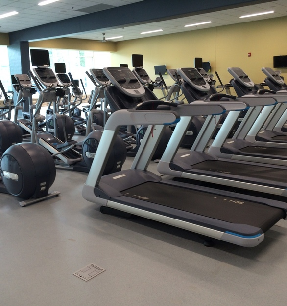 Cordeck Innovative Floor Solutions®  Walker Deck®  Cellular Floor System was used for this project.   Photo Credit: Nathan Meyer Commercial Sales Manager for Push Pedal Pull  *Walkerdeck is a registered trademark of the Wiremold Company