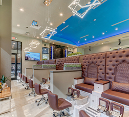 Severine Photography Azulene Day Spa Gainesville Florida Interior Chandelier Lighting
