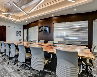 Live Oak Contracting's new office is located on the ninth floor of 100 N. Laura Street in Downtown Jacksonville.