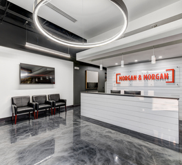 Severine Photography Morgan Morgan Office Interior Reception Desk Area