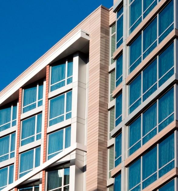 Hilton Garden Inn and Shildan Group used Terracotta Rainscreen.