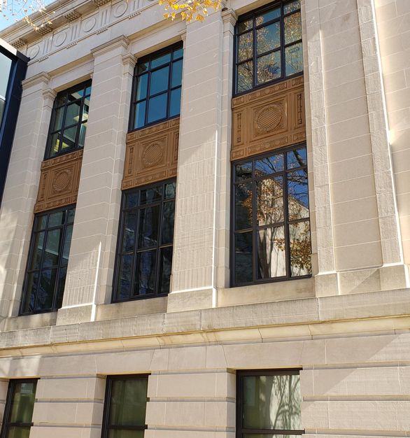 St. Cloud Window supplied over 70 windows in the effort to restore the Sibley County Courthouse.