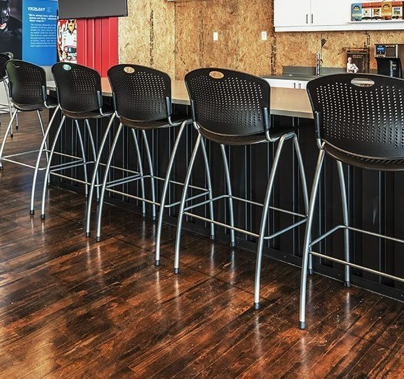 Blue Bloodhound Offices feature a variety of SitOnIt chairs.