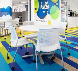 SitOnIt Office Seating Furniture Cytracom Office Break Room and Common Space