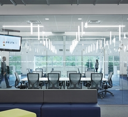 Snow kreilich architects delta irc conference room