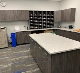 Southland Schools   Custom Cabinets   Copier Room  