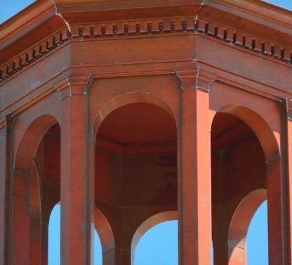 Hand-crafted copper elements now adorn St. Elizabeth Ann Seton in Keller, Texas.