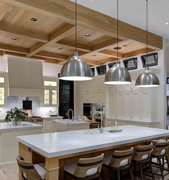 This private residence is located in St. George, Utahfeaturing lighting products by Acuity Brands - Aculux®. Project in collaboration with Designer, Kevin Meredith,and Acuity Brands' agent JRC Lighting.  Photographer: Aaron Shaw