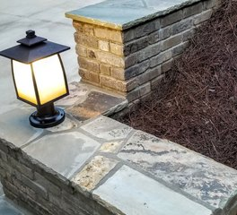 Speedymason Retaining Wall Application Exterior 3