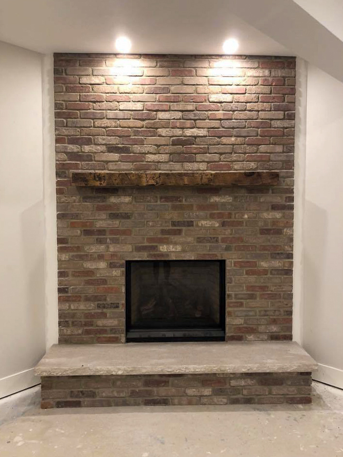 Speedymason provides tasteful character with their Stone Lath systems that provide easy installation for your thin brick.