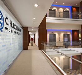 Stahl Construction CH Robinson Hallway