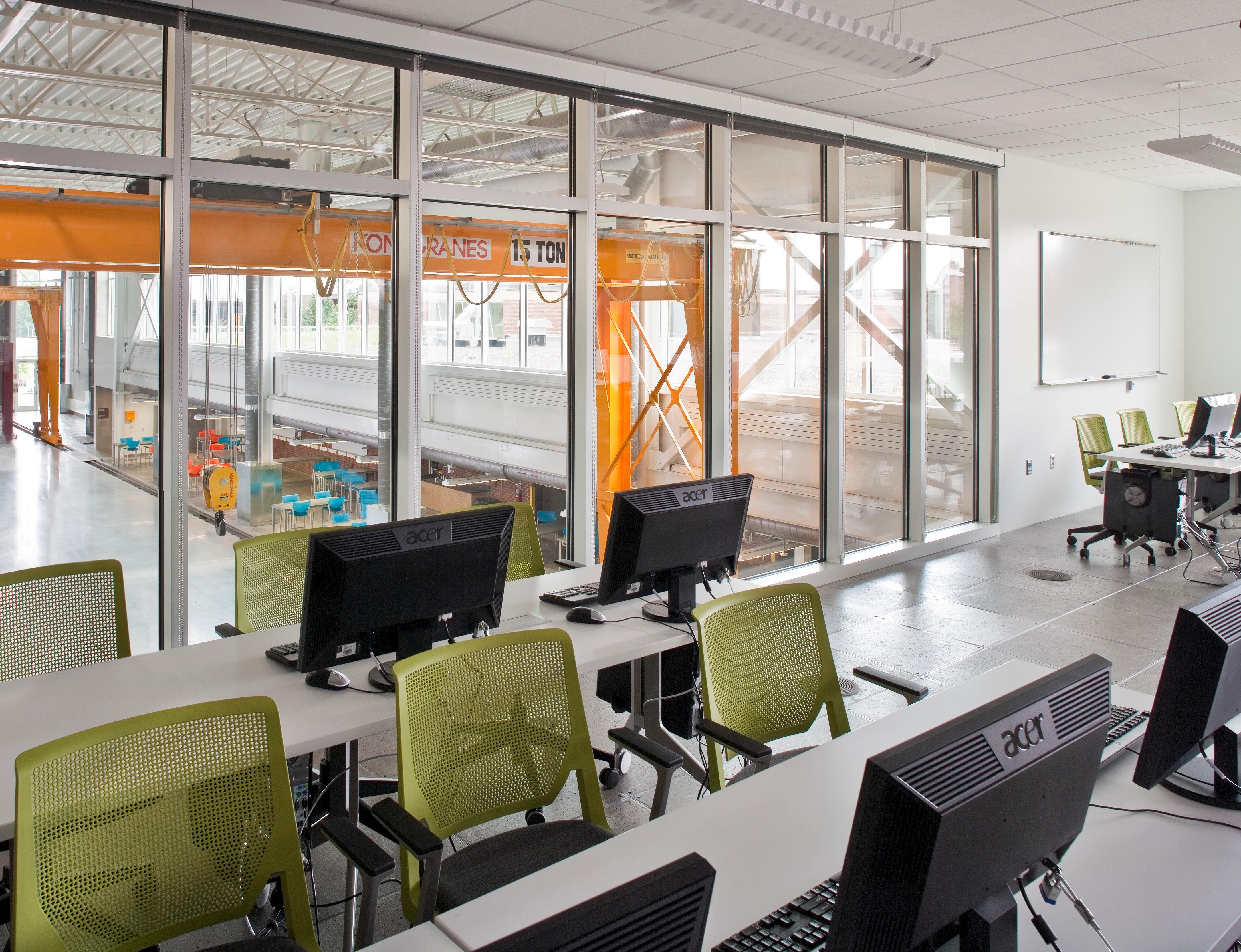 Stahl Construction Umd Swenson Civil Engineering Building Classroom Design