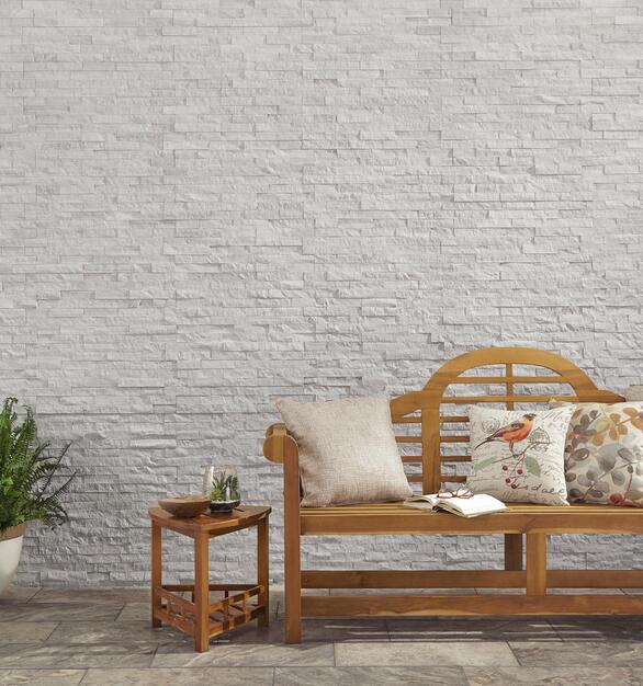 Natural stone tile is an excellent choice for luxury and durability.