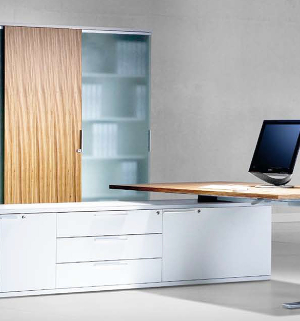 A wide range of storage applications from lowboards that pair with desking systems, to credenzas, storage cabinets, pedestals and rolling caddies, allowing you the ability to customize your storage solutions.