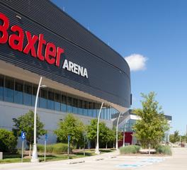 Structura Baxter Arena Omaha Nebraska Exterior Design and Branding
