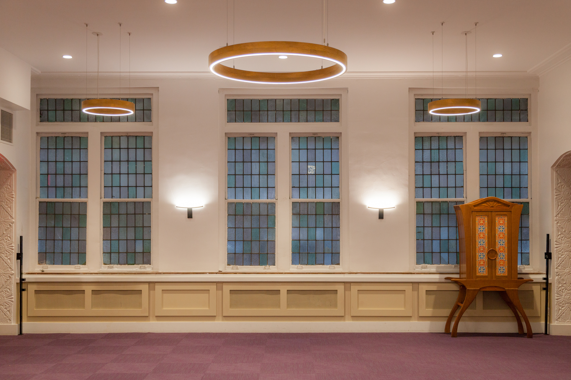 Structura Bnai Jeshurun Synagogue New York Common Area and Versatility Room