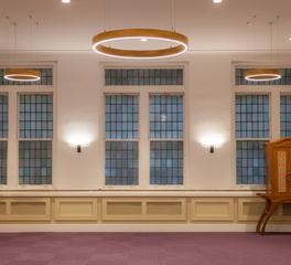 Structura Bnai Jeshurun Synagogue New York Common Area and Versatility Room